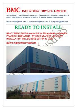 BMC READY TO INSTALL SHEDS - High Rise Building