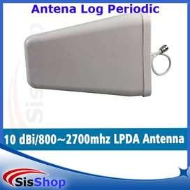 Antena Yagi Log Periodic Penguat Sinyal 2G 3G 4G (High Power LPDA)