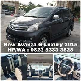 New Avanza G Luxury 2015 Harga Murah