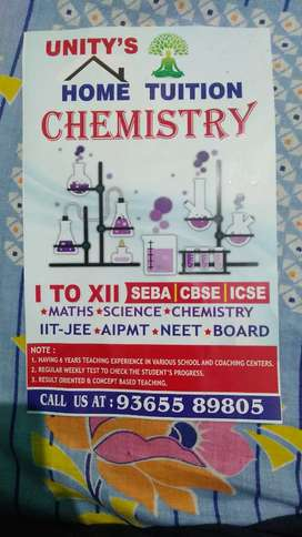 SCIENCE , MATHS & CHEMISTRY FACULTY HOME TUITION FOR YOUR CHILD