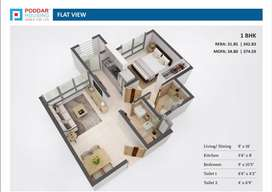 poddar Housing Codename 1 BHK Flat available