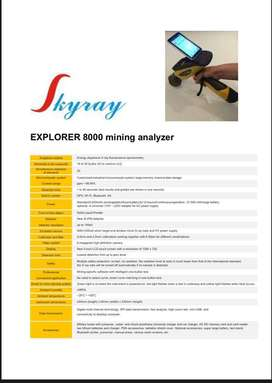 Skyray EXPLORER 8000 mining analyzer
