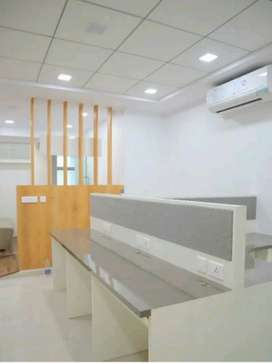 10 seatet Furnish office on rent in cbd belapur, navi