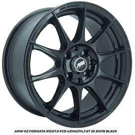 Velg Mobil AMW Forgiata R15x7.0 pcd4x100/114,3 ET38 QQ YRV Ford Fiesta