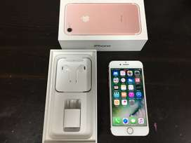 iPhone 7  only 3 month used at never before price