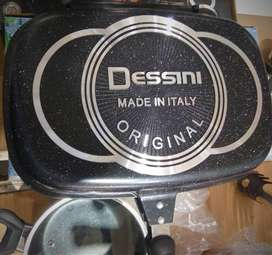 Dissini Double Sided Non Stick Cooking Grill Pan 36CM