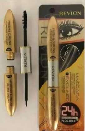 Mascara + eyeliner revlon murah