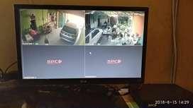 Paket CCTV 4 Kamera 2 MP HDTVI Hikvision Turbo HD Garansi 2 Thn