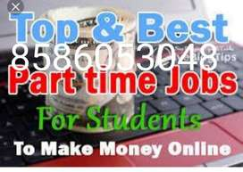 Part time jobs for fresher and students and all earn money weekly