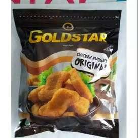 Goldstar chicken nuget all variant original spicy wings pok pok katsu