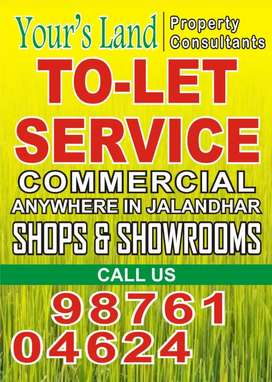 SEVERAL SHOPS & SHOW ROOMS AVAILABLE AT JAL RENT 15000 , 20000 & ABOVE