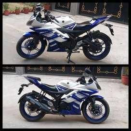 Yamaha R15v2 special edition colour bike only 61k.