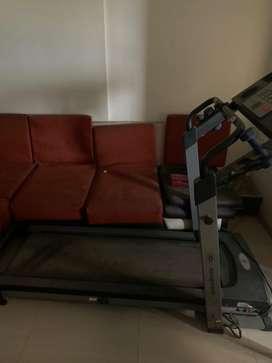 Workout treadmill