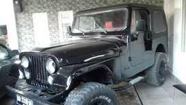 Jeep CJ7 Mesin Disel th. 81