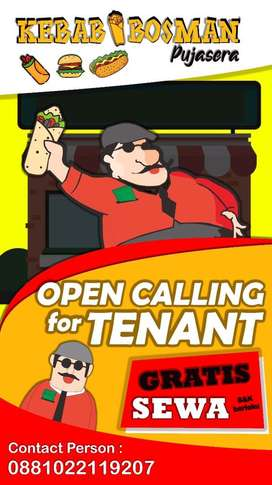 OPEN CALLING FOR TENANT