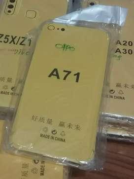 Case Anti crack soft jelly oppo A71
