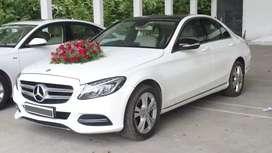 At 8000rs/- Luxury  Wedding car  # Mercedes-Benz C class