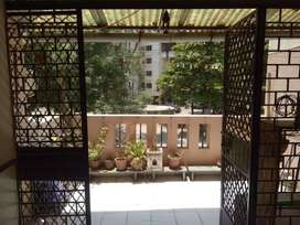 Beautiful garden facing fully furnished 2 BHK for sale