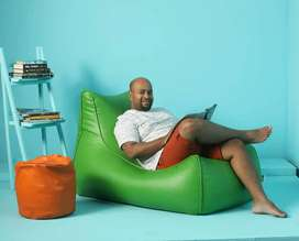 BEAN BAG (WITH BEAN) CHAIRS-  CONTACT LESS DELIVERY