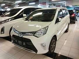 Toyota Calya 1.2 G 2017 AT Automatic Putih KM 30rb Asli Terawat