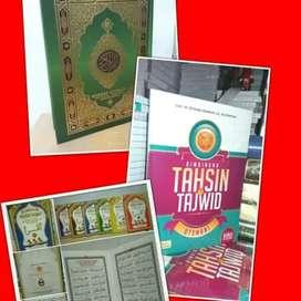 Belajar membaca Alqur'an dan tajwidnya