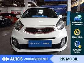 [OLX Autos] KIA All New Picanto 2014 D CVVT 1.3 A/T Putih #RIS Mobil