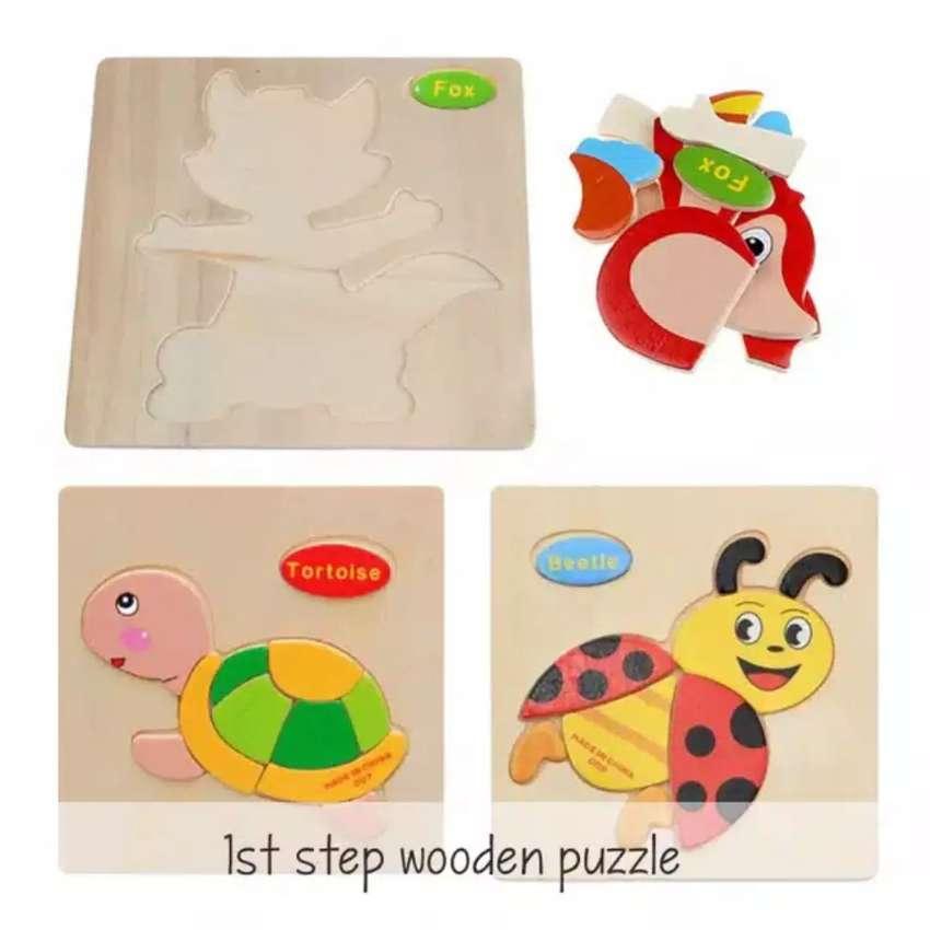 Puzzle kayu murah 0
