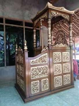 mimbar masjid terlaku