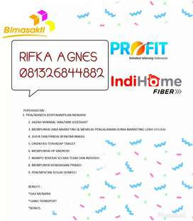 Urgent need sales force indihome