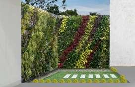 taman vartical pembuatan varyicsl garden