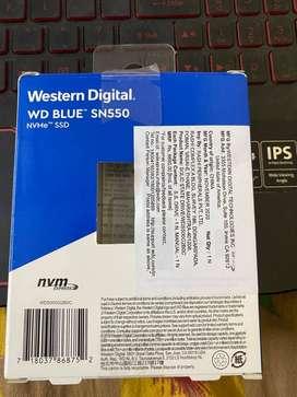 New NVMe SSD 500GB