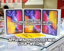 """New APPLE IPAD PRO 2020 11"""" 128GB WIFI(NEW) -Bs KREDIT/Tt/COD"""