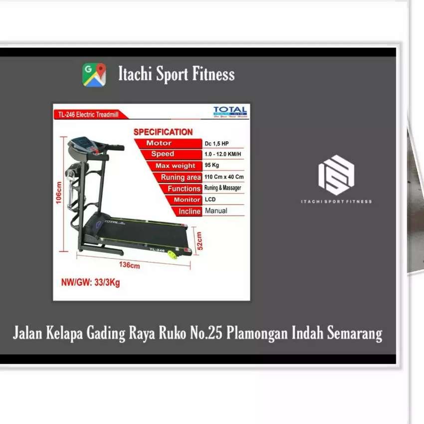 Alat Fitness Treadmill Elektrik ( COD Semarang ) 0
