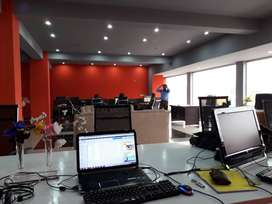 Furnished Private Office For software house or Call Centre