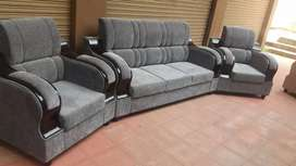 Cushion sofa set 3+1+1 good quality best price all furniture available
