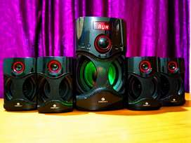 ZEBRONICS BASS BOOSTED SPEAKER SET WOTH BOX