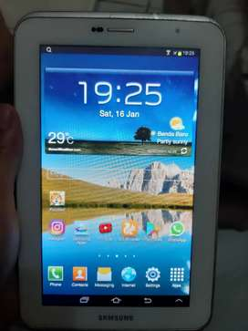 Sayang anak! Samsung tab 2 p3100