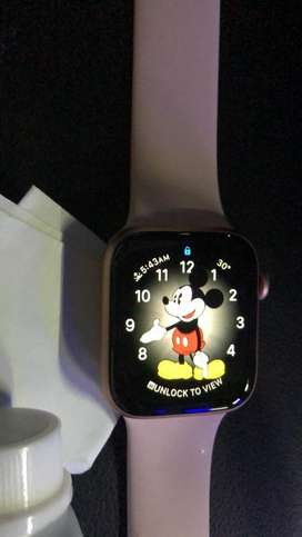 Iwatch 4 44 mm rose gold
