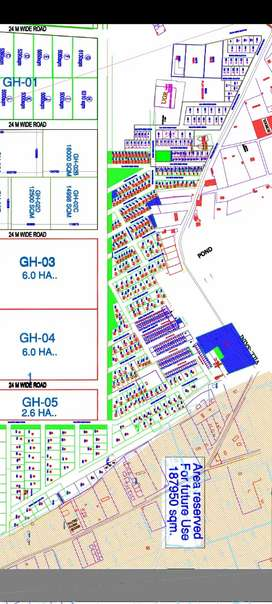 230 miter authority plot in sec 12 Saini