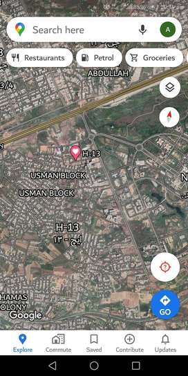 1 kanal commercial plot in H13 A block