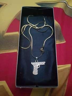 kalung gold.inc glock pendant