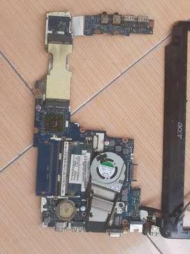 Motherboard mobo Acer ao 722. nornal perawan