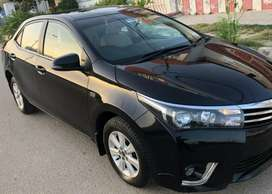 RENT A CAR OFFERS COROLLA 2015 MANUAL FOR MONTHLY RENTAL BASIS KHI ONL