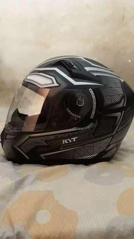 KYT K2 RYDER BLACK JAGUAR