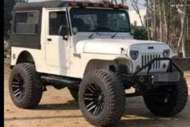 Modified mahindra jeep