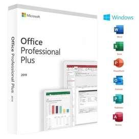Microsoft Office 2019 Pro MS Original Genuine for Desktop & Laptop