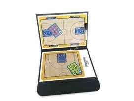 Coach Board Basket Magnet / Papan Strategi Basket