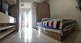 DISEWAKAN : Studio Apartemen BEBAS biaya air & Listrik di Kalibata