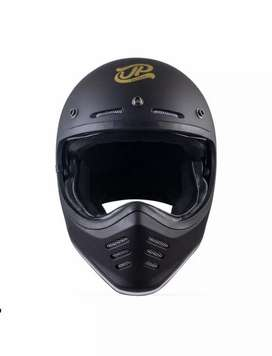 JP CHAKIL signature helm full face - black gloss/gold