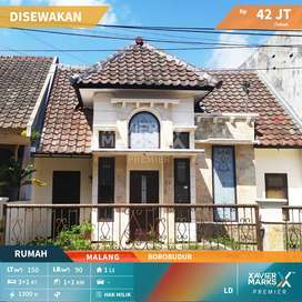 Rumah Jalan Borobudur Aman dan Nyaman